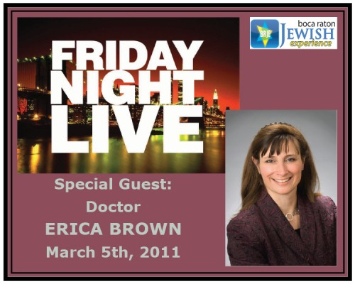DR. ERICA BROWN