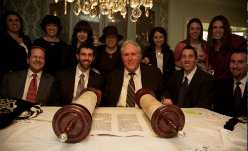 Fredman Torah dedication