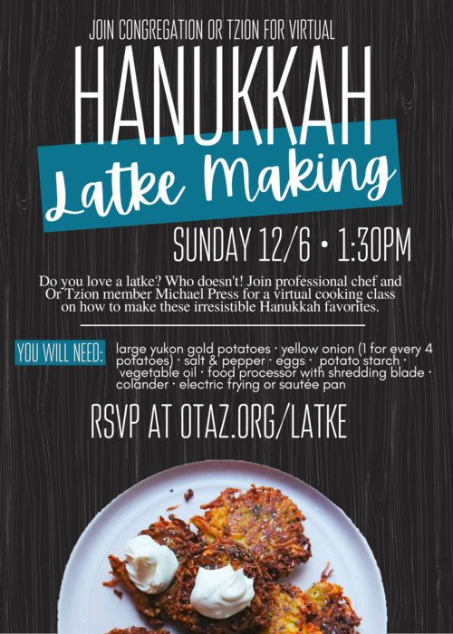 Banner Image for Hanukkah Latke Making