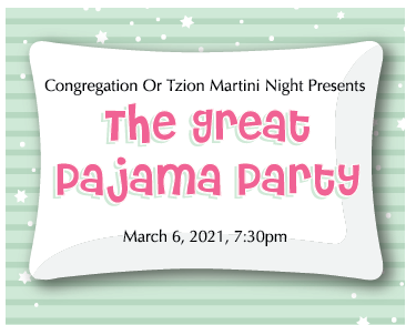 Banner Image for Martini Night presents The Great Pajama Party