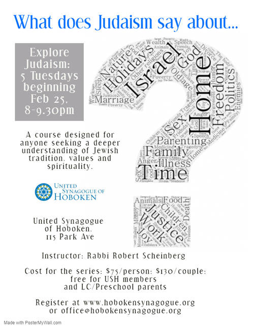 Banner Image for Explore Judaism: 5 session course