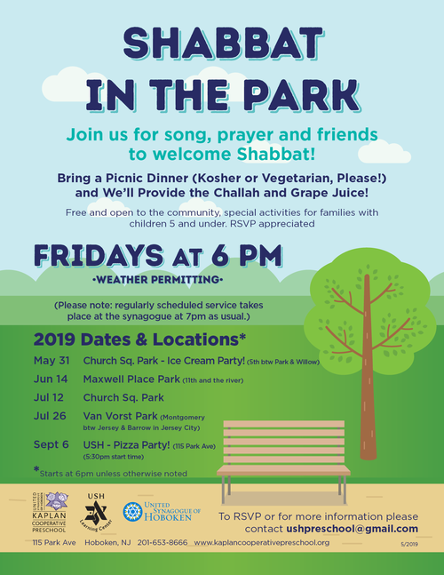 Banner Image for Shabbat in the Park