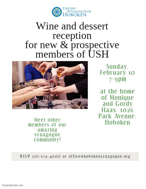 Banner Image for Wine and Dessert Reception for New and Prospective Members