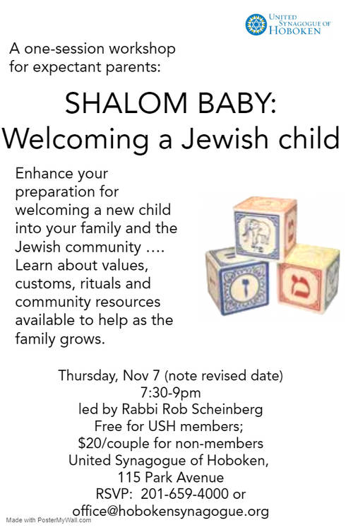 Banner Image for Shalom Baby:  Welcoming a Jewish child
