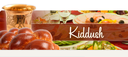 Kiddush Sponsor - Form - Congregation Beth Tefillah