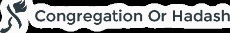 Logo for Congregation Or Hadash