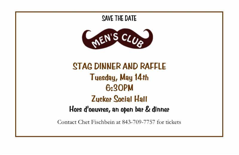 Banner Image for Men's Club Stag Dinner & Raffle
