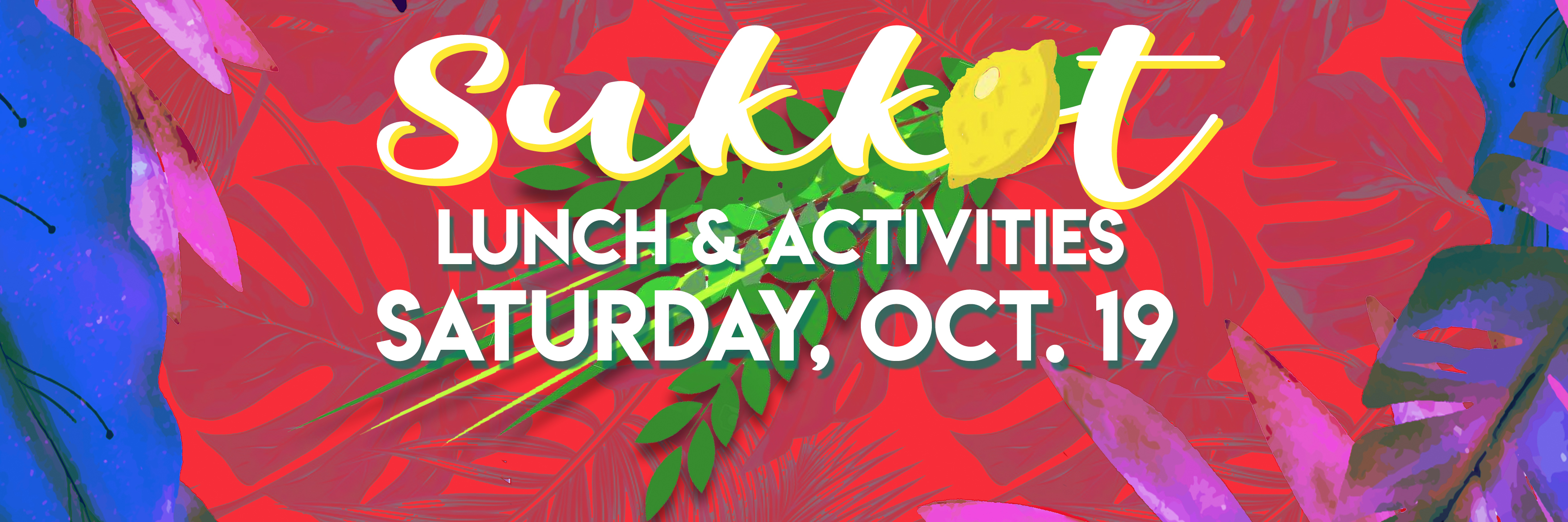 Banner Image for Sukkot Celebration & Luncheon