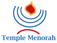 Logo for Temple Menorah