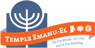 Logo for Temple Emanu-El (Providence)