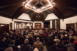 Temple B'nai Sholom Sanctuary, photo by David Frost Photography