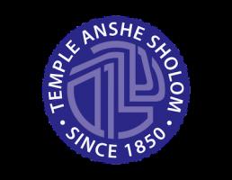 Logo for Temple Anshe Sholom