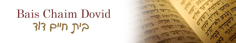Logo for Bais Chaim Dovid