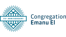 Logo for Congregation Emanu El