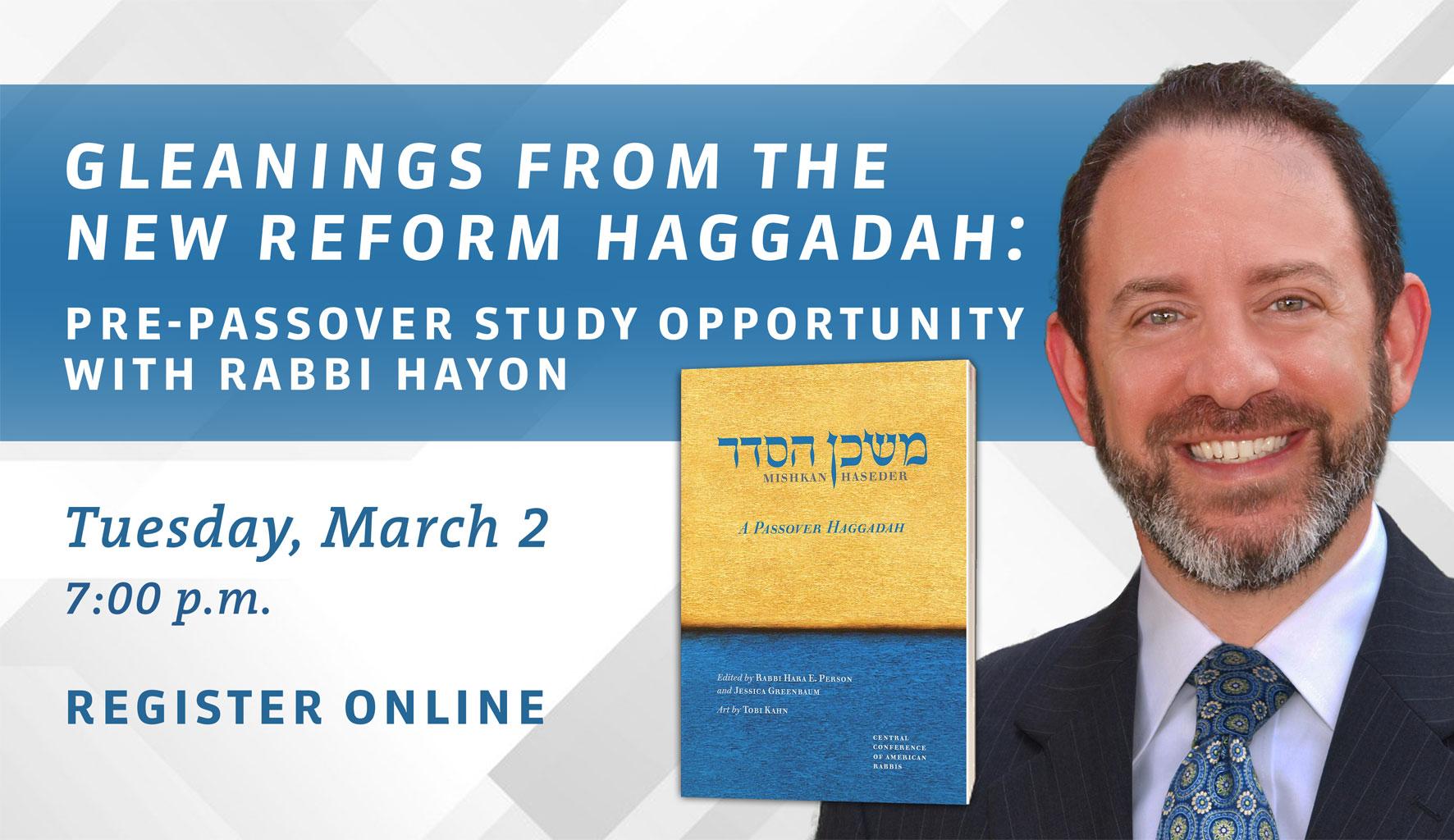 pre-passover study