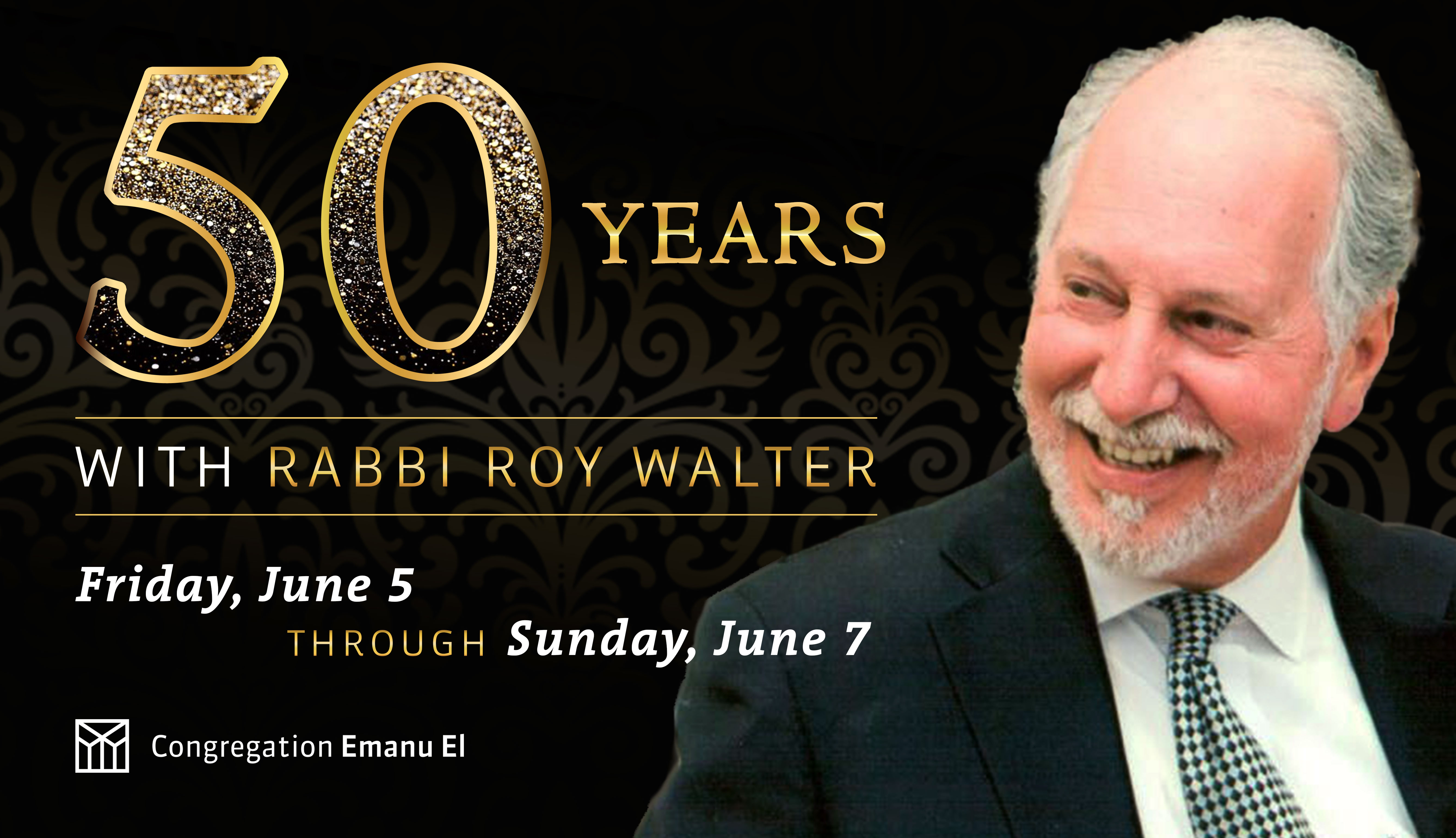 rabbi walter 50th anniversary