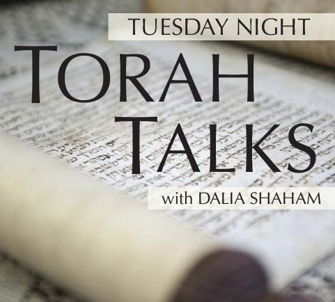 Banner Image for Torah Talks with Dalia