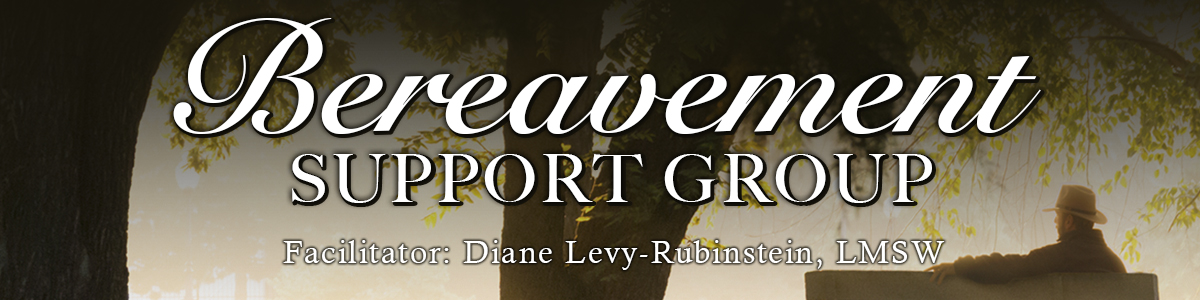Banner Image for Bereavement Support Group - IN PERSON