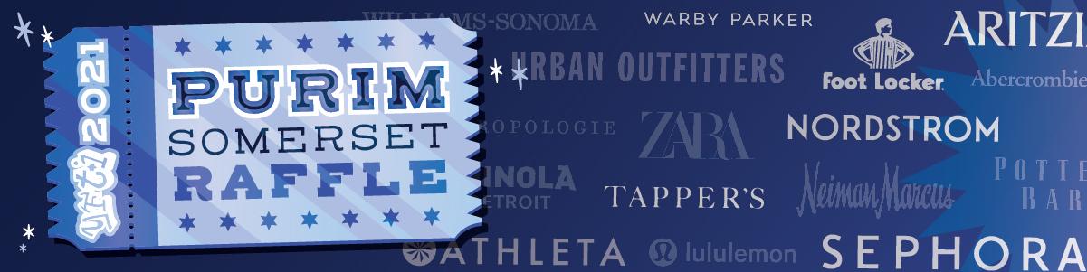 Banner Image for YFTI Somerset Purim Raffle