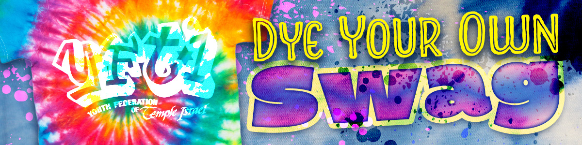 Banner Image for YFTI Dye Your Own Swag