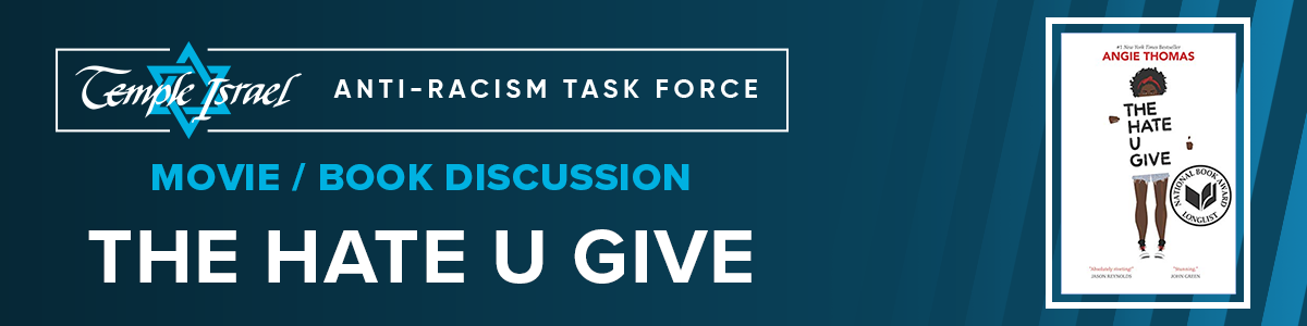 Banner Image for 'The Hate U Give' - Movie/Book Discussion