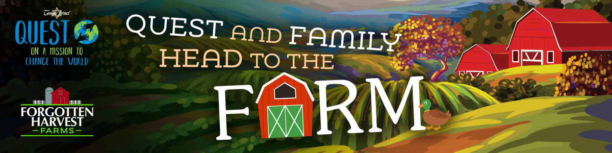 Banner Image for Quest and Family Head to the Farm!