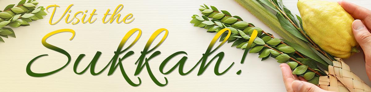 Banner Image for Visit the Sukkah!