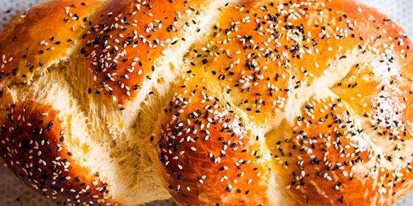 Braided Shabbat Challah