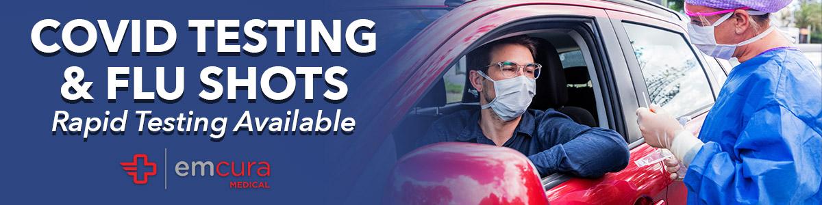 Banner Image for Community COVID Testing & Flu Shots