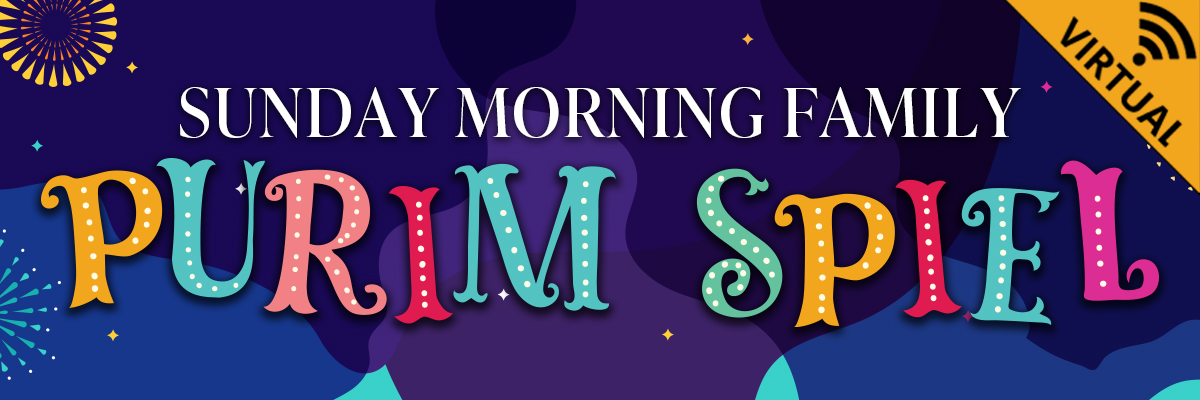 Banner Image for Sunday Morning Family Purim Spiel