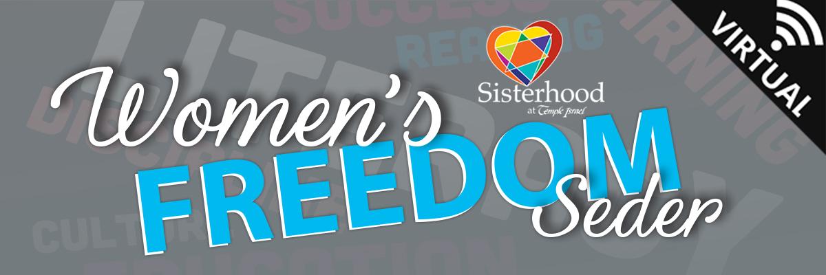 Banner Image for Women's Freedom Seder