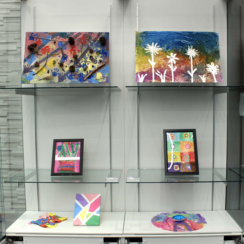 Goodman Museum - ECC Exhibit - Display Case #1