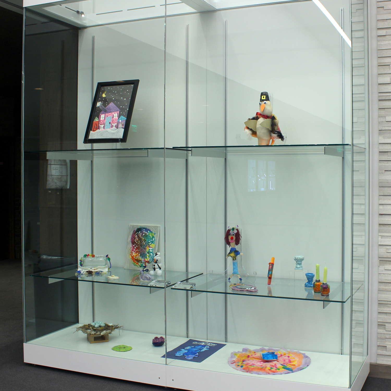 Goodman Museum - ECC Exhibit - Display Case #3