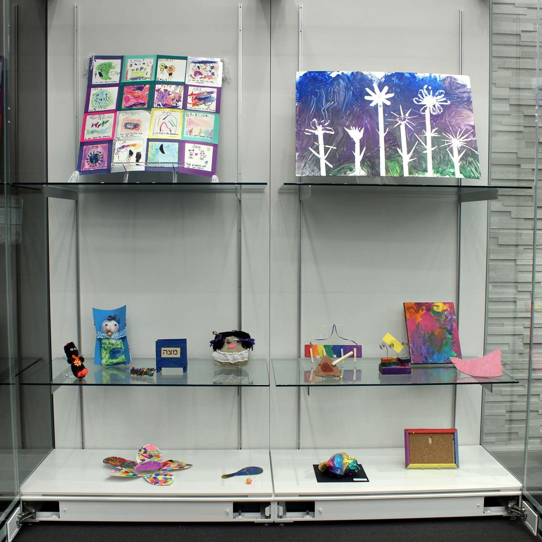 Goodman Museum - ECC Exhibit - Display Case #2