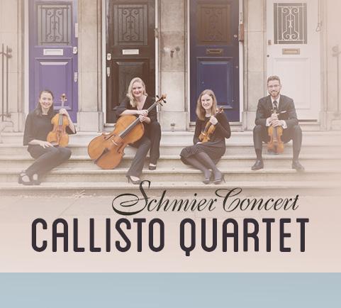 Schmier Concert with Callisto Quartet