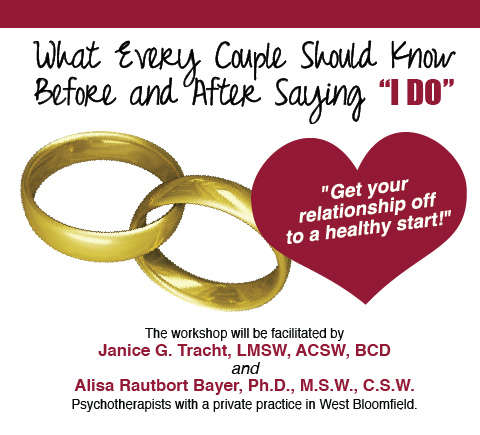 Newlywed Marriage Workshop