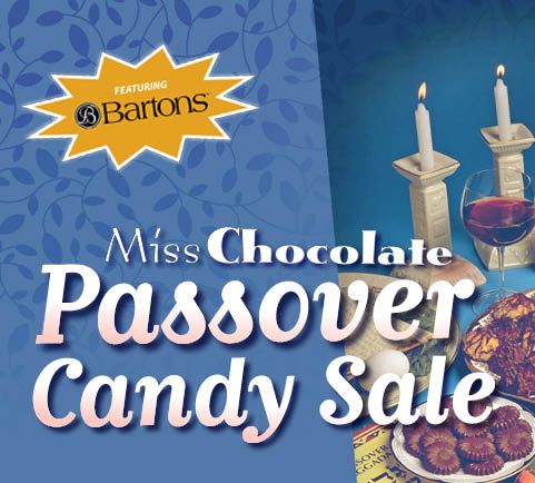 Passover Chocolate and Candy Sale