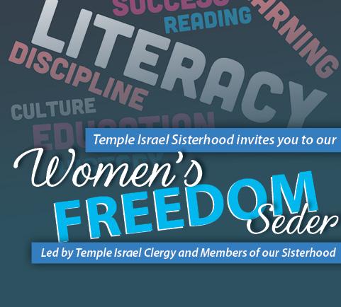 Sisterhood Women's Freedom Seder