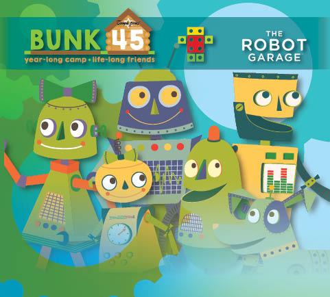 Bunk45 Robot Garage Event