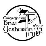 Logo for Congregation Bnai Yeshurun