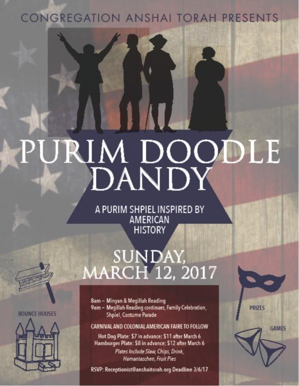 Purim Doodle Dandy