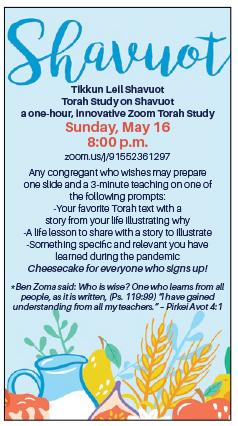 Banner Image for Tikkun Leil Shavuot –Torah Study on Shavuot  - Zoom