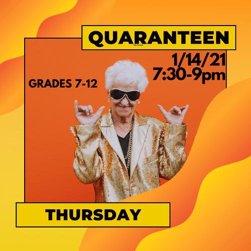 Banner Image for QuaranTeen Thursday
