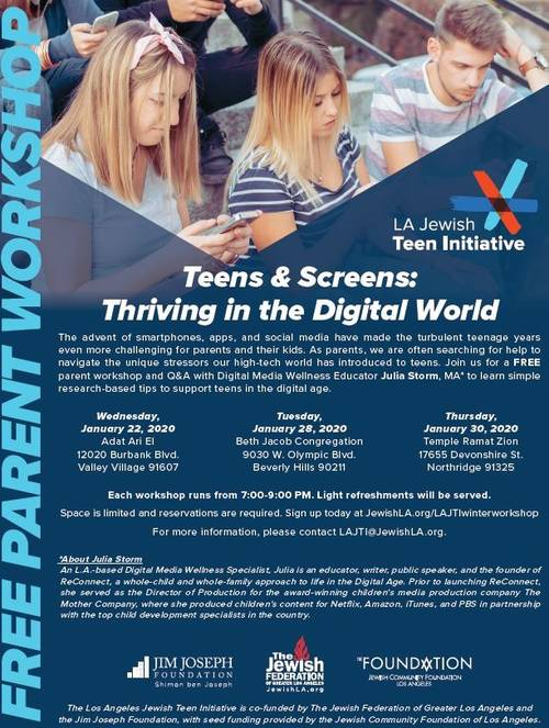 Banner Image for Teens & Screens: Thriving in the Digital World