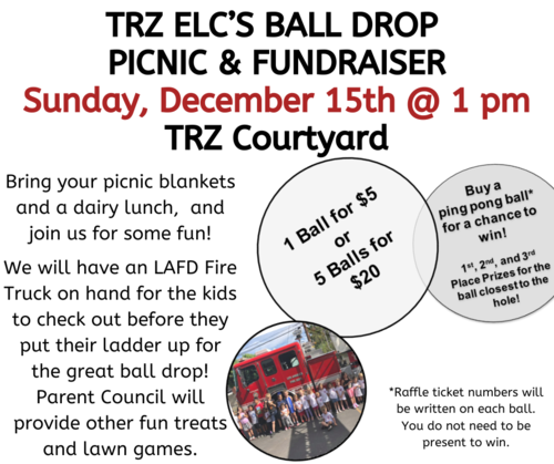 Banner Image for ELC Picnic & Ball Drop