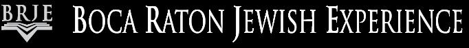 Logo for Boca Raton Jewish Experience