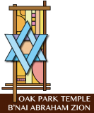 Logo for Oak Park Temple B'nai Abraham Zion