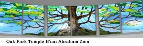 Logo for Oak Park Temple B'nai Abraham Zion