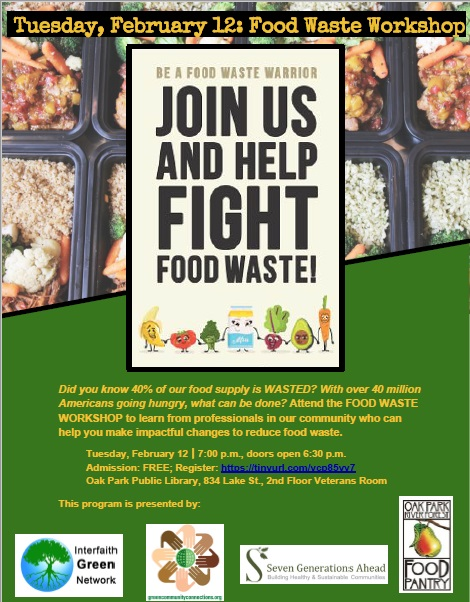 Food Waste Workshop - Event - Oak Park Temple B'nai Abraham Zion