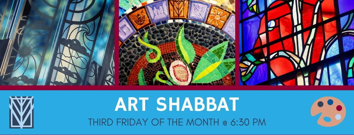 Banner Image for Art Shabbat
